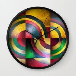 Miguez Art Abstract 1 Wall Clock