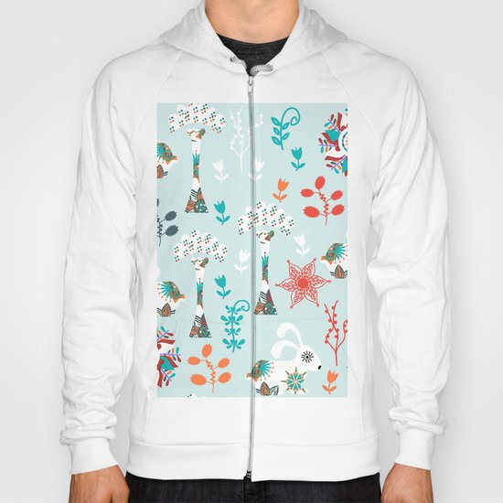 Animals pattern Hoody