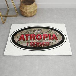 Atropia I Served (Camo) Rug