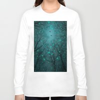 angels Long Sleeve T-shirts featuring One by One, the Infinite Stars Blossomed by soaring anchor designs