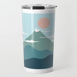 Cat Landscape 72B Travel Mug