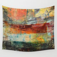 brasil Wall Tapestries featuring Heat Wave by Fernando Vieira