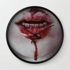 Blooood Wall Clock