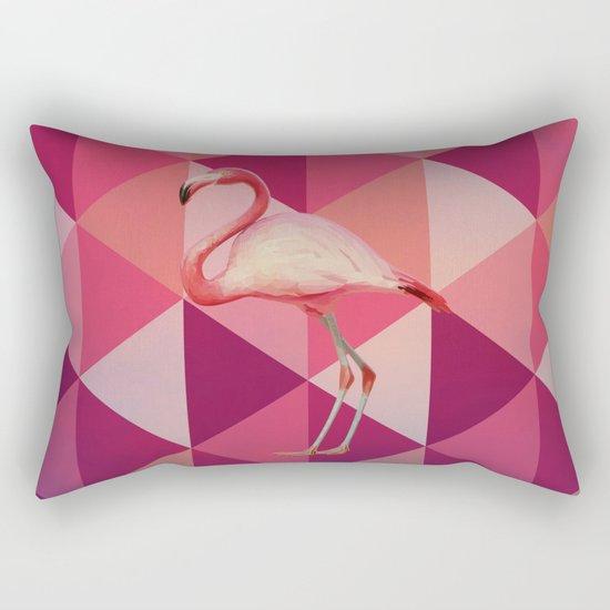 Phoenicopterus Ruber Rectangular Pillow