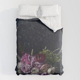 Antlers + Flowers Comforters