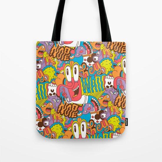 Hey Wait Tote Bag