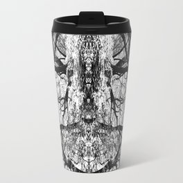 Heart Shaped Branches Nature's Chandelier Travel Mug