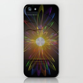 Light and energy - sunset iPhone Case