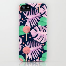 Summer print iPhone Case