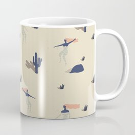 Dezert swim Coffee Mug