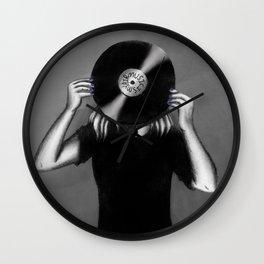 Music is My Air Wall Clock