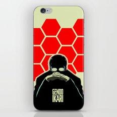 Gendo Ikari from Evangelion. Super Dad. iPhone & iPod Skin
