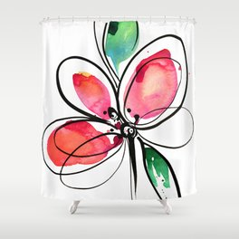 Ecstasy Bloom No. 3 by Kathy Morton Stanion Shower Curtain