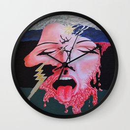She's a Bit Touched Wall Clock