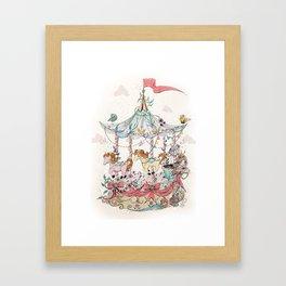 Carrusel Framed Art Print
