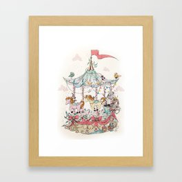 Carrusel Framed Art Print