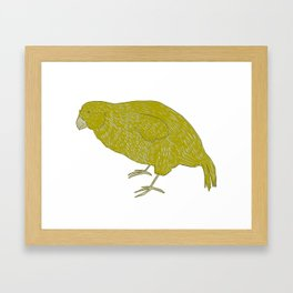 Kakapo Says Hello! Framed Art Print