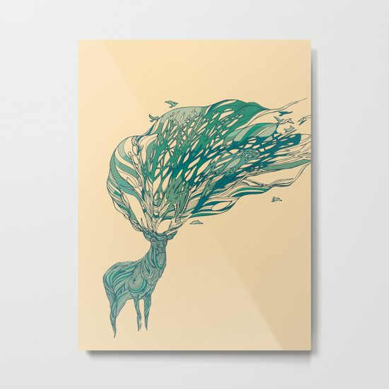 How Good It Feels Metal Print