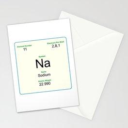 11 Sodium Stationery Cards