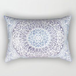 DEEP PURPLE MANDALA Rectangular Pillow