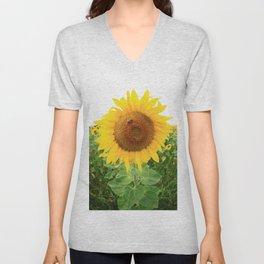 Sonnenblumen 2 Unisex V-Neck