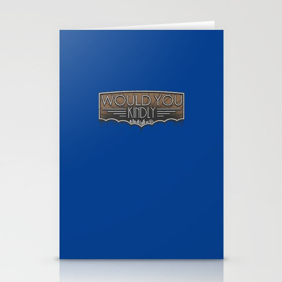 Would You Kindly Stationery Cards