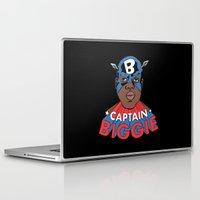 biggie Laptop & iPad Skins featuring Captain Biggie by Chris Piascik
