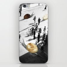 Rush hour iPhone & iPod Skin