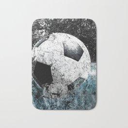 Modern soccer version 1 Bath Mat