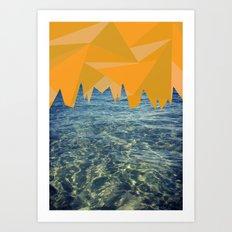 GeOcean Art Print