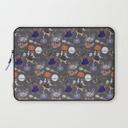 Chubboween Patriarchy Potion Watercolor Pattern Laptop Sleeve