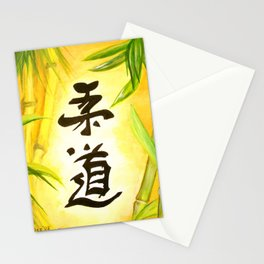 japanese JuDo - the gentle way Stationery Cards