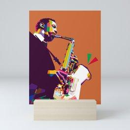 Ornette Coleman Mini Art Print