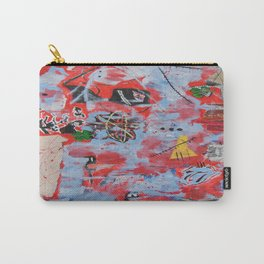 The Wild Ones inspired by Jean-Michel Basquiat Carry-All Pouch