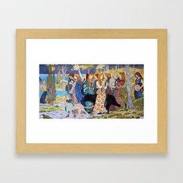 Eugène Grasset - Harmony Framed Art Print