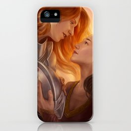 Fin'Amor iPhone Case
