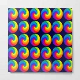 Spectrum colors Metal Print