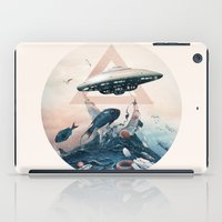 ufo iPad Cases featuring UFO by Tanya_tk