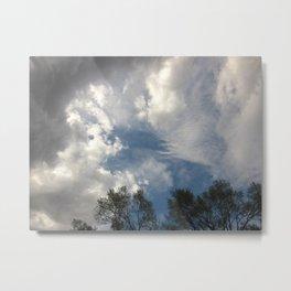 Symphony Of Clouds Metal Print