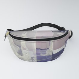 Glass Chess POV Ray Tracing Fanny Pack