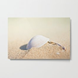 Listen to the Ocean Metal Print