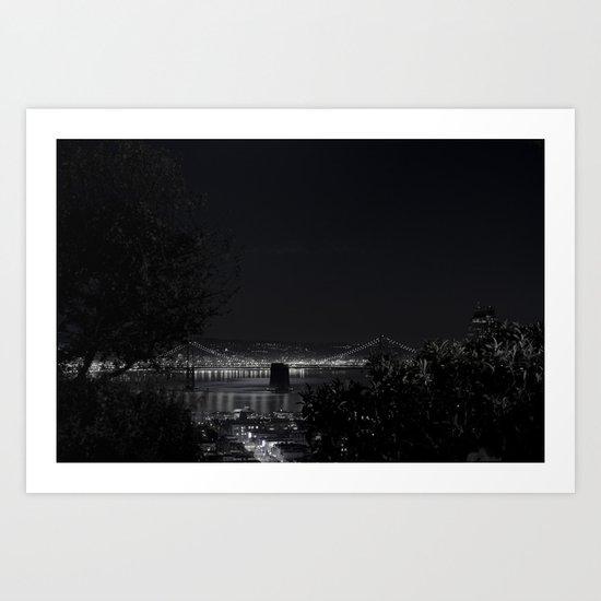 San Francisco's night - EEUU  Art Print