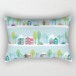 Ski house Rectangular Pillow