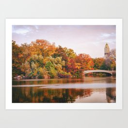 Autumn Colors Are the Best Colors - New York City Art Print