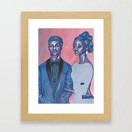 galactic royalty Framed Art Print