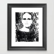 Schnell Eyes Framed Art Print