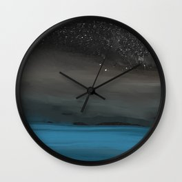 Light Show in the Sky Wall Clock