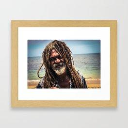 Rasta Love Framed Art Print