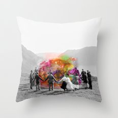 Conjurers Throw Pillow