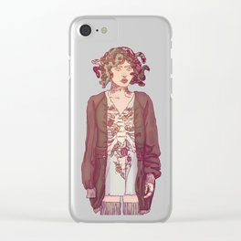 Gorgo Lady Clear iPhone Case